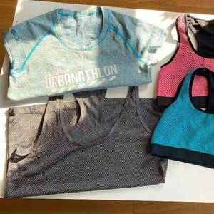 LOT OF 5 XSMALL WORKOUT GEAR